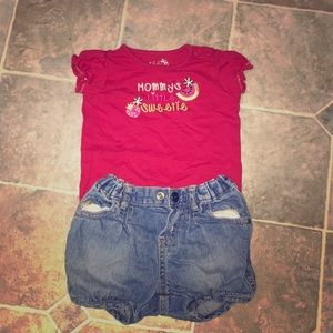 Mommy's little sweetie outfit